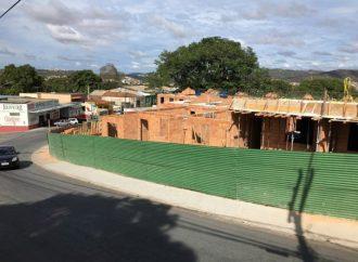 Santa Luzia está sendo invadida por conjuntos habitacionais