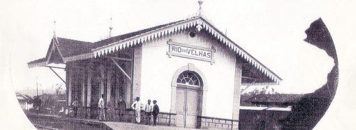 Estação ferroviária é do fim do século 19