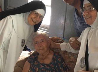 Luzia Fonseca chega aos  seus 103 anos