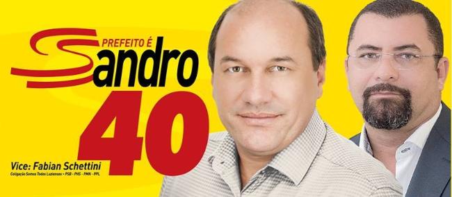 Irregularidade na filiação do vice pode impugnar a chapa de Sandro Coelho