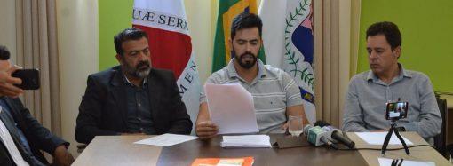Prefeito fecha Prefeitura 'para balanço' e desabafa: Aqui é uma bagunça, um caos