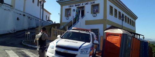 Mais uma vez, a Câmara municipal de Santa Luzia está no noticiário policial