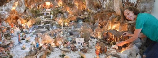 Visite os presépios de Santa Luzia.Venha apreciar estas verdadeiras obras de arte