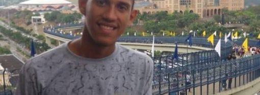 Rodrigo Martins, jovem que representará SL na Jornada Mundial/2019, no Panamá