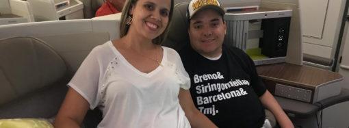 Acontece em SL: Breno Sales já está na Espanha para se tratar de doença rara