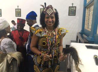 Muita emoção na visita da Rainha Diambi Kabatusuila ao Mosteiro de Macaúbas