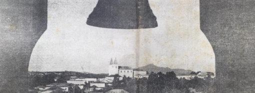 Velho retrato de uma Santa Luzia vibrante, moldada pelo grande Dr. Oswaldo Ferreira