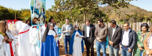 Chega ao fim a restauração de muro histórico do Mosteiro de Macaúbas