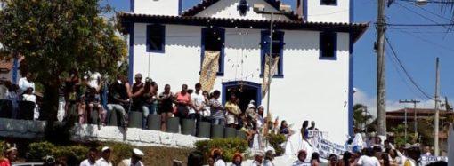 Jaboticatubas festeja Nossa Senhora do Rosário e a restauração de capela de 1889