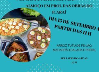 Almoço e show musical no Icaraí, os incêndios na cidade e outras notícias