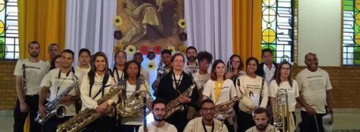 Banda de Música Benício Moreira é a mais antiga instituição cultural de Santa Luzia