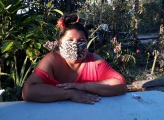 Indígena moradora de SL faz apelo contra as queimadas, pela proteção da natureza