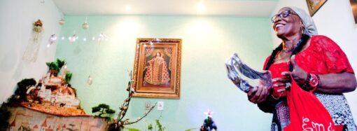 Cleusa Batista revive há 65 anos a alegre Cigana do Egito, no grupo de pastorinhas