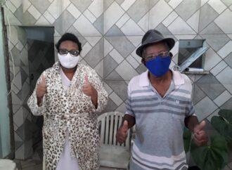 Eles foram infectados pelo coronavírus. Sofreram muito,  mas venceram  a Covid