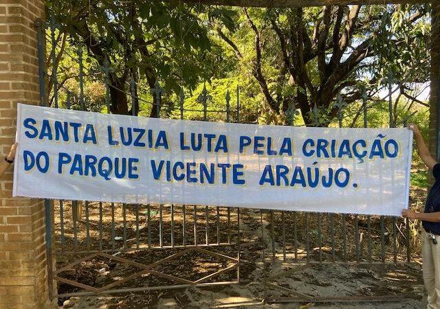 Somente unidos conseguiremos impedir o loteamento da fazenda de Vicente Araújo