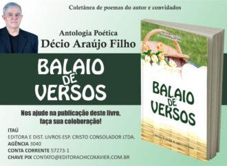 """Poeta luziense pede apoio para publicar  """"Balaio de Versos"""", seu livro de poesias"""